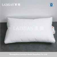 广州莱棉酒店用品 100%鹅绒舒适枕芯 单人枕 星级酒店宾馆客房专用枕头
