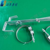 山东鲁创厂家生产ADSS/OPGW镀锌预留架盘留架光缆接头盒配套使用