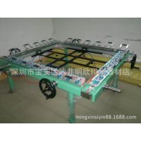 铝合金精密型拉网机,高张力机械式绷网机,高张力拉网机