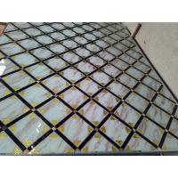 沙河佳汇厂家供应客厅电视背景墙玻璃 大理石、晶石艺术玻璃