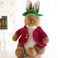 节日礼品填充毛绒玩具兔子公仔厂家设计生产定制可加LOGO