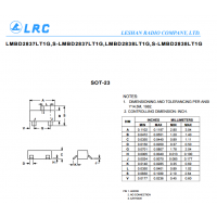 LRC开关二极管LMBD2838LT1G SOT23封装