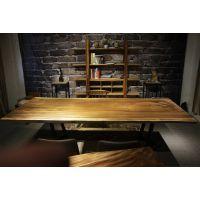 家有名木供应南美胡桃木实木大板琥珀木原生态艺术烘干薄板餐桌茶桌会议桌书桌个性办公桌吧台超大台面