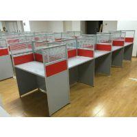 天津办公家具厂定做屏风办公桌、一对一培训桌、电话消售桌、工位桌、兴之鹏板式老板桌