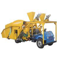 供应申鑫牌ZLP系列防爆自动喷砂机 车载式自动上料喷浆车 砂灰喷浆机