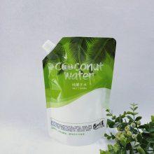 厂家直销 500ml自立吸嘴袋 饮料液体纯净水透明包装袋定做