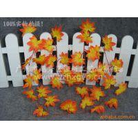 供应C0101000-2米红枫叶 仿真红枫叶 仿真枫叶藤