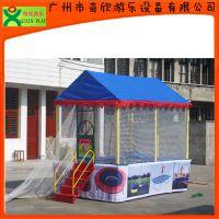 厂家直销广州奇欣儿童蹦床,儿童跳跳床,方形蹦床 物美价廉(QX-117F)