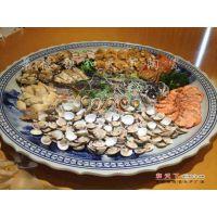 景德镇厂家 青花大盘 陶瓷八十六十厘米大盘 现货直销