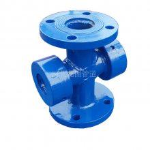 优质4寸不锈钢水流指示器 马鞍式水流指示器 消防吸水喇叭口支架