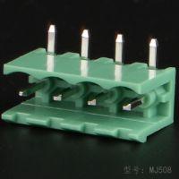 PCB公母对接连接器端子508螺栓式接线端子线路板电源插件端子