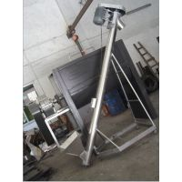 粮食专用不锈钢螺旋上料机,制造不锈钢输送机厂家鼎达