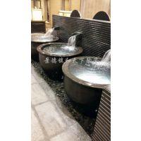 日本极乐汤陶瓷泡澡缸 洗浴中心泡澡缸 冲澡缸