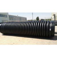 克拉管HDPE缠绕结构壁管材中的排水管