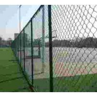学校操场四周铁丝网护栏 运动场围栏、锌钢护栏厂