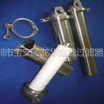 供应不锈钢单芯过滤器不锈钢过滤芯过滤袋过滤棉木质纤维过滤芯