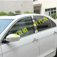 2013款新捷达新桑塔纳车窗饰条改装 不锈钢装饰亮条专车专用