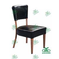 连锁餐椅量身定制厂家 简略现代风格西皮餐椅定制 茶餐厅桌椅批发