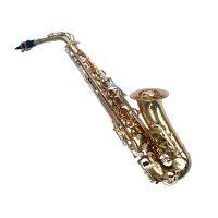 台湾萨尔特 SP-6100 中音初学者萨克斯风乐器 sax 萨克斯管