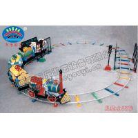 热销儿童轨道小火车公园广场游乐设备