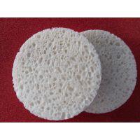 清洗木浆海绵柱定制 进口木浆绵柱加工 肤色木浆海绵圆片定制