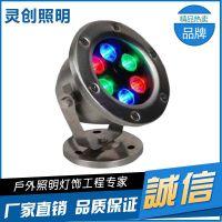 DMX512 LED水底灯以专业品质赢得市场的厂家有哪些-推荐灵创照明