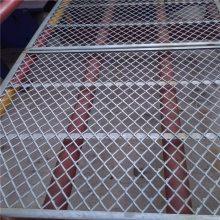 马路绿化带防护网 工艺品制造菱形钢板网片 钢板网护栏专业厂家