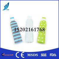 供应OEM冷热两用卡通水瓶PVC凝胶冰袋 夏季降温冷热袋