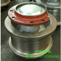 φ140欧式车轮组 材质球墨铸铁 从动 天车小车轮 耐磨性消震性好 赛奥威 欧式起重配件厂家