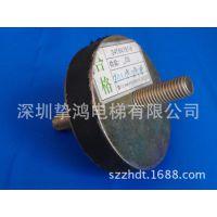 日立电梯 主机防震减震胶垫 圆型直径80MM 螺杆12MM 24505932-A
