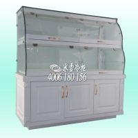 深圳冰雪批发零售 商用柜 木质常温面包展示柜 两层常温柜 立式蛋糕柜 商用冰柜冷柜
