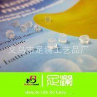 1包起批满立减  八角形透明塑料耳堵 饰品配件批发 100个/包