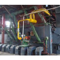 聊城锅炉改造——25t/h菏锅牌低压卧式工业锅炉燃煤改为生物质炉子