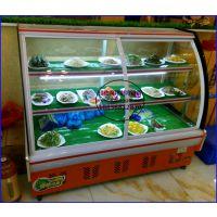 水果蔬菜超市保鲜柜 有机蔬果冷藏展示柜 三门峡酒店凉菜卤味柜