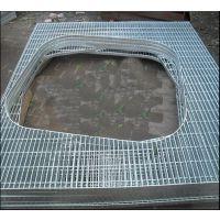 兰州热镀锌钢格板甘肃异型格栅板天水插接网格板