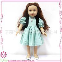 热销美国女孩娃娃 18寸娃娃鞋子 搪胶公仔衣服定做 Farvision Girl