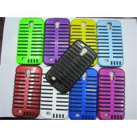 新款热销 三星i9500 麦克风二合一保护套 手机保护壳 S4硅胶外壳