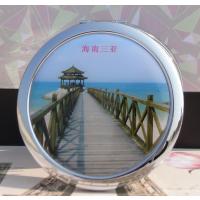 定做锌合金化妆镜 金属化妆镜 锌合金化妆镜生产厂家 锌合金折叠化妆镜双面镜子批发