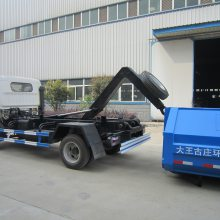车箱分离式垃圾车配套垃圾箱厂家价格更优惠