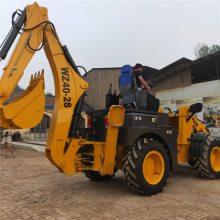 中首重工两头忙挖掘机客户定做尺寸四缸四驱价格