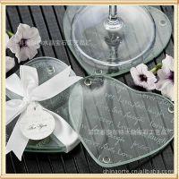 【厂家热销】圆形水晶杯垫 防滑杯垫烟缸垫水晶花瓶垫玻璃盘餐垫