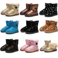 2015新款儿童雪地靴批发童靴小孩保暖靴男童女童雪地靴 一件代发