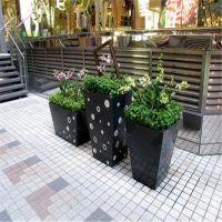 玻璃钢绿化花盆,室外种植容器,玻璃钢花盆组合,厂家直销
