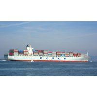 广州到徐州门到门集装箱海运费多少钱一吨