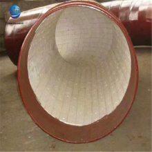 煤炭钢铁输送灰/耐|工业用碳钢耐磨管件的分类,dn800点焊装卡式耐磨管-沧州乾胜管道竭诚为您服务