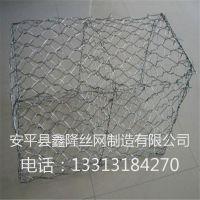 水利河渠修复宾格石笼网箱 新疆河道治理铅丝笼 格宾挡土墙