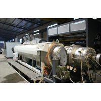 朗逸机械(图),塑料管材挤出机商家,塑料管材挤出机