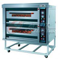 广州赛思达双层四盘气烤炉价格 双层燃气烤炉NFR-20H多少钱