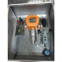 三合一气体检测仪(硫化氢H2S、氨气NH3、VOC)自动除湿排水预处理系统TD1000-M3