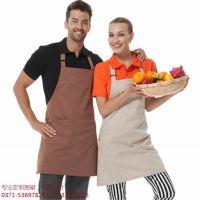 无纺布广告围裙定制印字logo宣传推销幼儿园美术馆儿童DLY烧烤店
